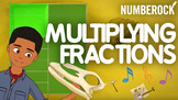 Multiplying Fractions Song: Multiplication Math Center Activity