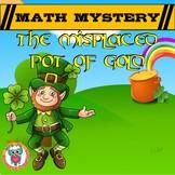 St Patrick's Day Math Mystery Video Hook