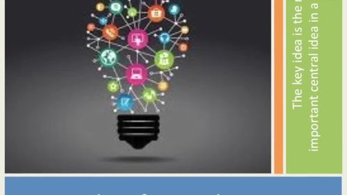 """Identifying Key Ideas: """"I do"""", """"We do"""", """"You all do,"""" """"You Do."""""""