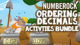 Ordering Decimals on a Number Line From Least to Greatest: