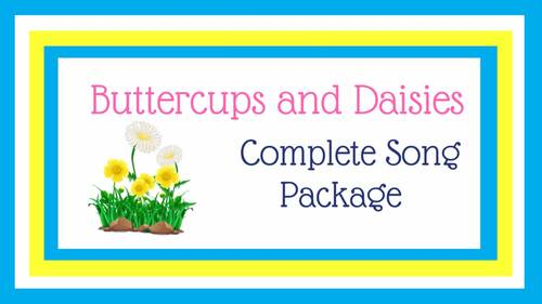 "2 or 4-Part Round for Spring | ""Buttercups and Daisies"" 