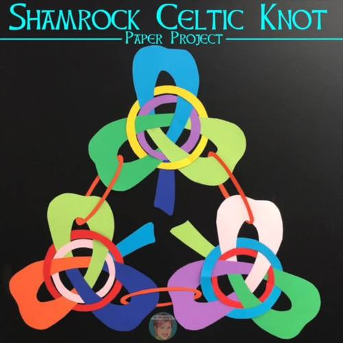 Celtic Knots Paper Art [Volume 2] - Shamrocks  | Fun St Patricks Day Craft