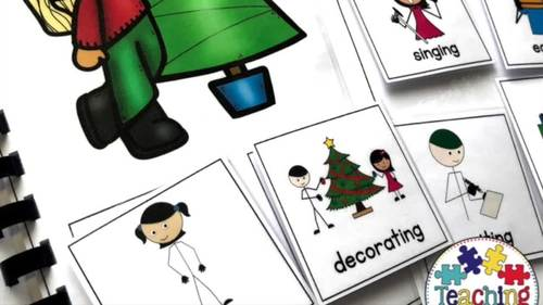 Christmas Adapted Books (For Special Education)