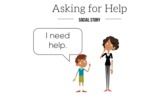 Asking for Help - Animated Social Story