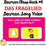 "11_German Class Transition Video ""Questions"" ""Das Fragelie"