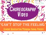 """Choreography VIDEO for """"Can't Stop the Feeling"""", K Pre-K g"""