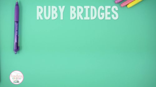 Ruby Bridges Activities