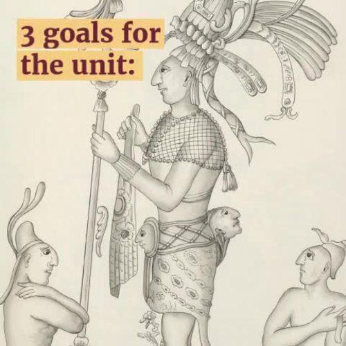 Aztecs Incas Maya Unit for Mesoamerica