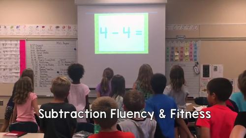 Math Facts Fluency & Fitness® BUNDLE (Addition and Subtraction to 20)