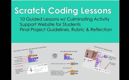 Scratch Coding Lessons (Bundle)