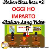 Italian Transition Video Today I Learned  for CI TCI TPRS