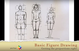 Basic Figure Drawing - Getting The Proportions Right