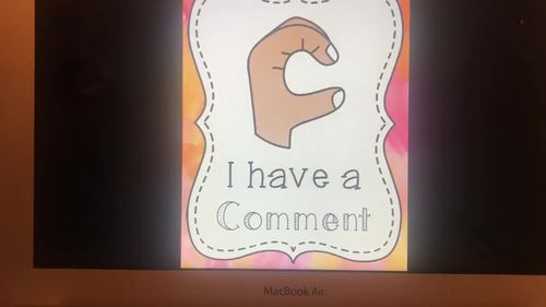 Multicultural Watercolor Hand Signal Posters