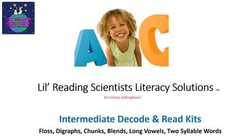 Blends (Set A) - Decodable Stories, Sentences, and Word Cards (OG)