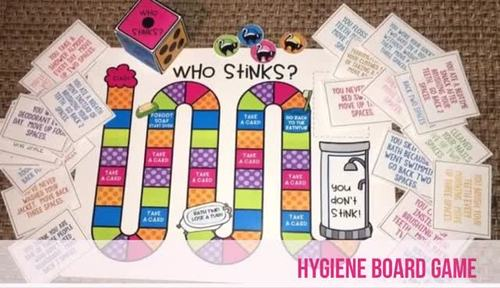 Personal Hygiene Board Game