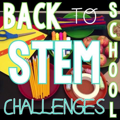 Back to School STEM Challenge Activities: 1:1 PAPERLESS Version