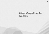 Five Paragraph Essays and the Rule of Three