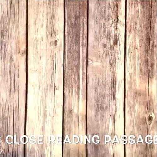Science Close Reading Brochures -GROWING BUNDLE