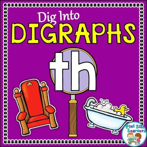 Digraph Th No Prep Worksheets
