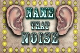 "The ""Name That Noise"" Game"