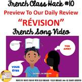 "10 French Class Transition Video ""Review"" for CI TCI TPRS"