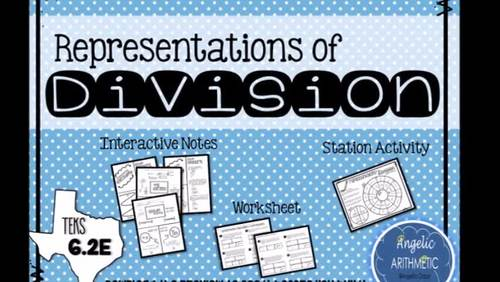 Representations of Division and Multiplication