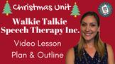 Christmas Unit Walkie Talkie Speech Therapy Inc. Downloada