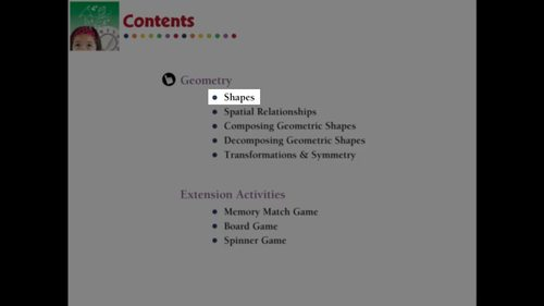 Geometry: Shapes - Practice the Skill 1 - NOTEBOOK Gr. PK-2