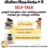 Italian Transition Video Self-Talk  for CI TCI TPRS 90% Ta