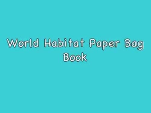 Benchmark Advance Second Grade Unit 3 Habitat Project (California)