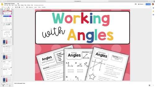 Angle Activities - Google Classroom