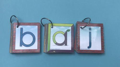 Alphabet Word Building Cards