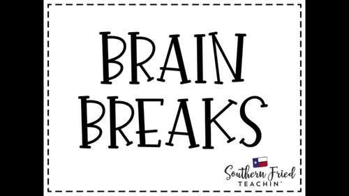 96 Quick & Fun Brain Breaks
