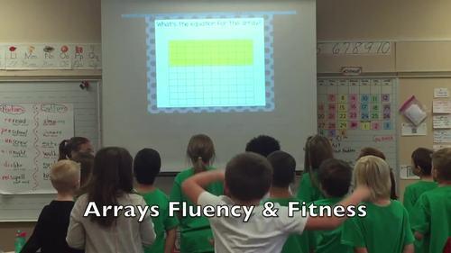 Arrays Fluency & Fitness Brain Breaks