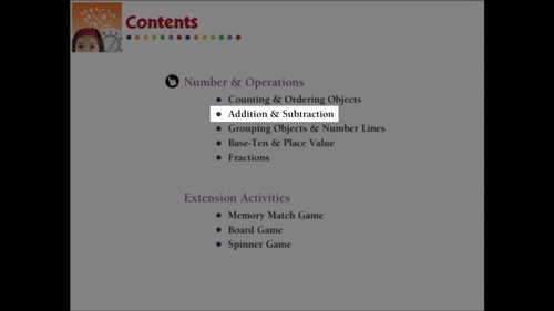 Number & Operations: Addition & Subtraction - Practice 2 - NOTEBOOK Gr. PK-2