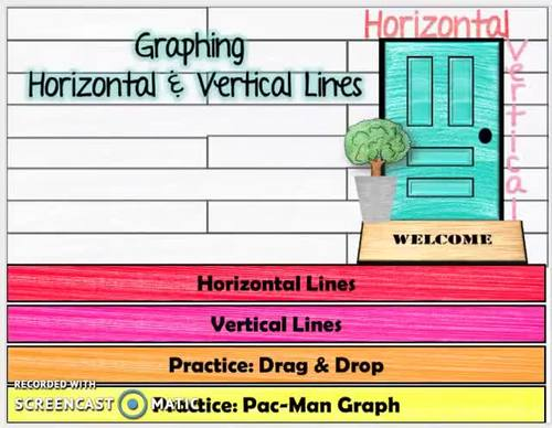 Linear Functions: Vertical & Horizontal Lines