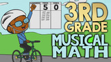 NUMBEROCK 3rd Grade Musical Math Review: Curriculum w/ Gam