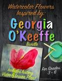 Georgia O'Keeffe Flowers BUNDLE