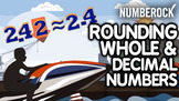 Rounding Numbers & Rounding Decimals ♫♪ Video, Game, Works