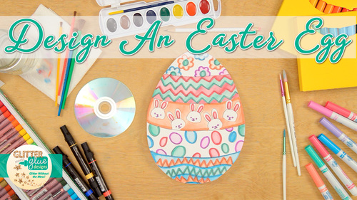 Spring Activities Easter Egg Art Project Roll A Dice Game