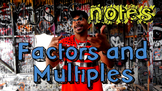 Factors and Multiples Song