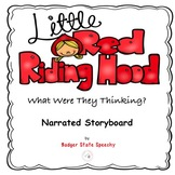 Little Red Riding Hood Narrated Storyboard