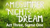 Line by Line: Shakespeare's A Midsummer Night's Dream (3.1)