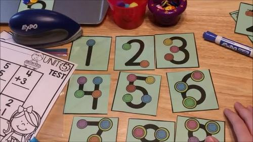 Touchpoint Math Cards {Cards for every season}