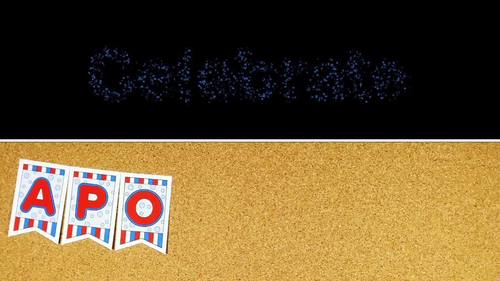 Apollo 11 Banner in Full Color
