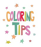 Coloring Tips