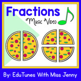 Fractions Music Video, Lyrics, Manipulatives, & Activities