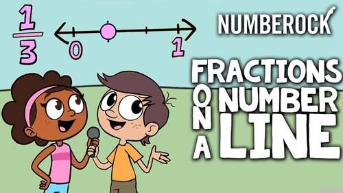 Fractions On a Number Line Freebie Video | Available Math Centers ...