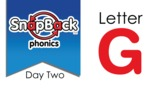 SnapBack Phonics Video: Letter G, Day Two