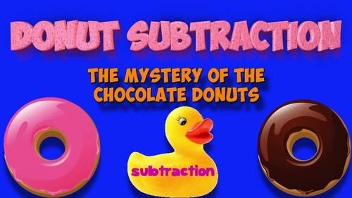 Subtraction Song: Donut Subtraction!